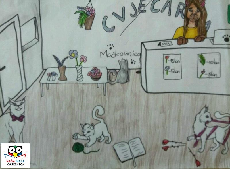 NMK Franciska Kuna 7a crtež Kako su cvjećarnice postale mačkovnice